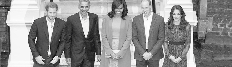 April 22 – Dinner With The Obamas At Kensington Palace