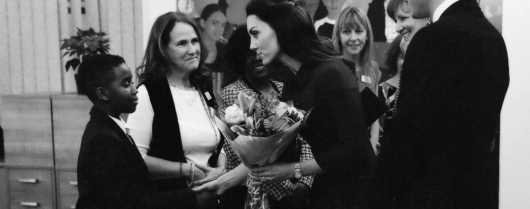 January 11 – The Duchess of Cambridge Visits The Anna Freud Centre & Child Bereavement UK Centre